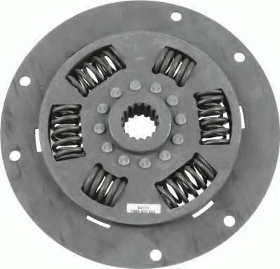 SACHS 1866600004 - Torsion Damper, clutch detali.lv