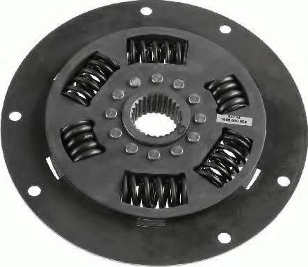 SACHS 1866600006 - Torsion Damper, clutch detali.lv