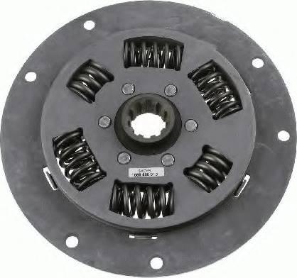 SACHS 1866600010 - Torsion Damper, clutch detali.lv