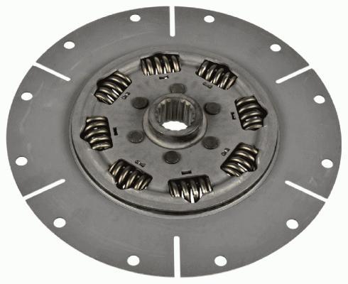 SACHS 1866000332 - Torsion Damper, clutch detali.lv