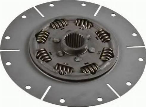 SACHS 1866000337 - Torsion Damper, clutch detali.lv