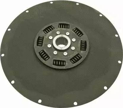 SACHS 1866024001 - Torsion Damper, clutch detali.lv