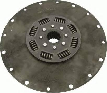 SACHS 1866156001 - Torsion Damper, clutch detali.lv