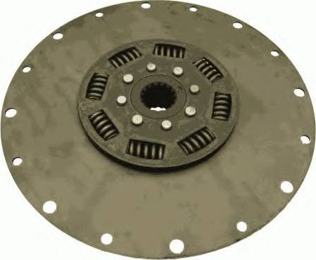 SACHS 1866138101 - Torsion Damper, clutch detali.lv