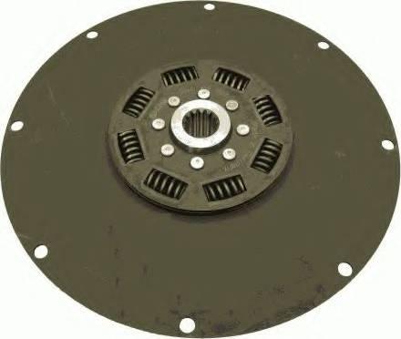SACHS 1866122002 - Torsion Damper, clutch detali.lv