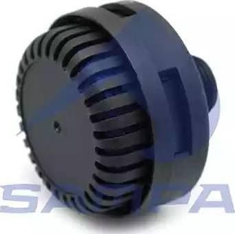 Sampa 092334 - Silencer, compressed-air system detali.lv
