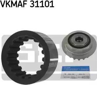 SKF VKMAF31101 - Flexible Coupling Sleeve Kit detali.lv