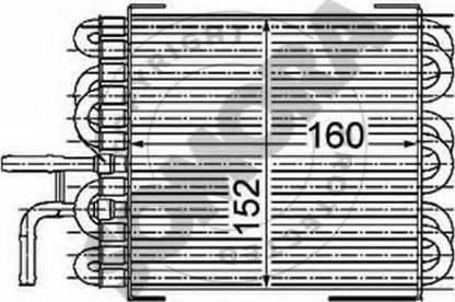Somora 171340C - Radiator, engine cooling detali.lv