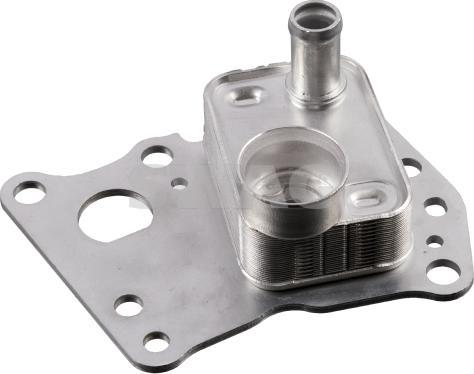 Swag 10103445 - Oil Cooler, manual transmission detali.lv