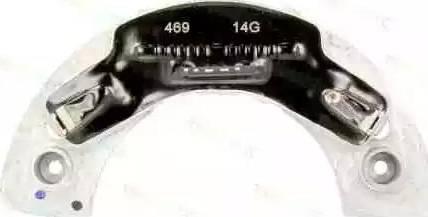 Thermotec DEC005TT - Pre-resistor, blower detali.lv
