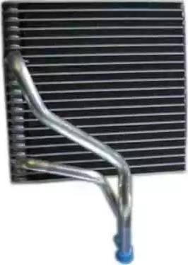 Thermotec KTT150005 - Evaporator, air conditioning detali.lv
