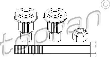 Topran 400527 - Repair Kit, reversing lever detali.lv