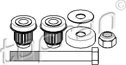 Topran 400088 - Repair Kit, reversing lever detali.lv