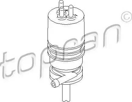 Topran 400117 - Water Pump, headlight cleaning detali.lv