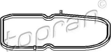 Topran 400133 - Seal, automatic transmission oil pan detali.lv