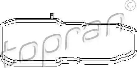 Topran 400132 - Seal, automatic transmission oil pan detali.lv