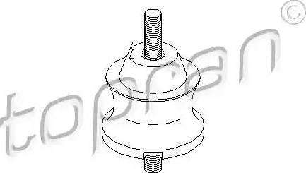 Topran 500011 - Mounting, automatic transmission detali.lv