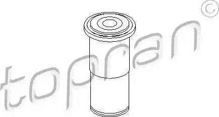 Topran 500153 - Bush, steering arm shaft detali.lv