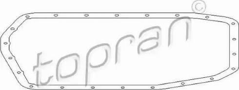 Topran 500786 - Seal, automatic transmission oil pan detali.lv