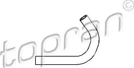 Topran 501555 - Hydraulic Hose, steering system detali.lv