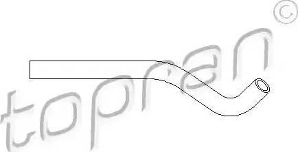 Topran 501556 - Hydraulic Hose, steering system detali.lv