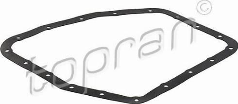 Topran 600452 - Seal, automatic transmission oil pan detali.lv