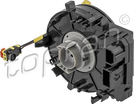 Topran 638451 - Clockspring, airbag detali.lv