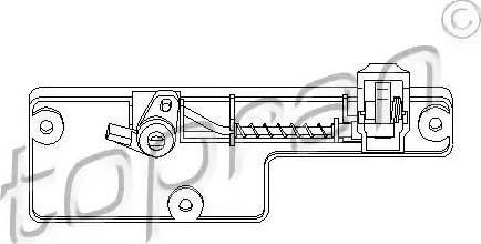 Topran 109078 - Glove Compartment Lock detali.lv