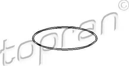 Topran 104525 - O-Ring, cylinder sleeve detali.lv