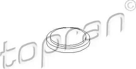 Topran 100084 - Flange Lid, manual transmission detali.lv