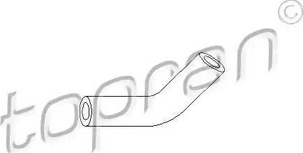 Topran 103405 - Vacuum Hose, brake system detali.lv
