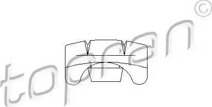 Topran 103635 - Control, seat adjustment detali.lv