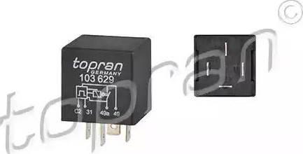 Topran 103629 - Hazard Lights Relay detali.lv