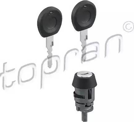 Topran 103112 - Lock Cylinder, ignition lock detali.lv
