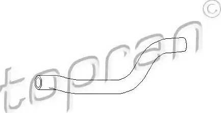 Topran 102872 - Hose, heat exchange heating detali.lv