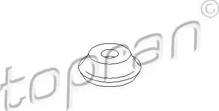 Topran 107658 - Mounting, shock absorbers detali.lv