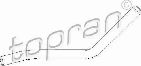 Topran 111980 - Hydraulic Hose, steering system detali.lv
