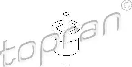 Topran 111298 - Valve, vacuum pump detali.lv