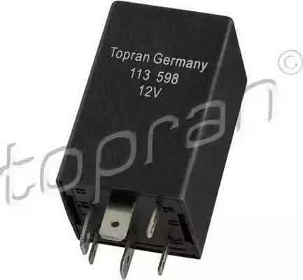 Topran 113598 - Relay, air conditioning detali.lv