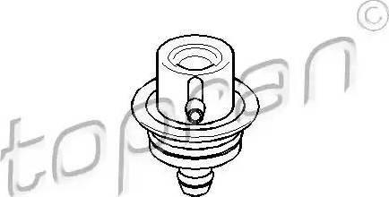 Topran 108125 - Control Valve, fuel pressure detali.lv