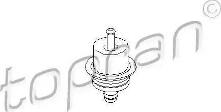 Topran 301901 - Control Valve, fuel pressure detali.lv