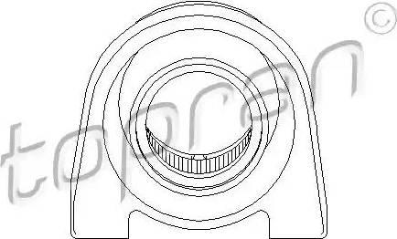 Topran 205500 - Mounting, propshaft detali.lv