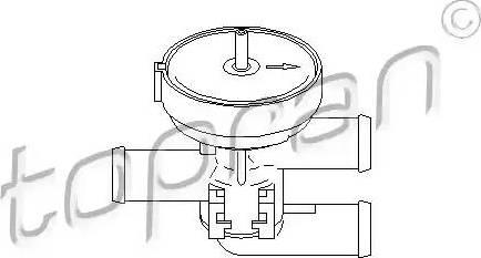 Topran 206241 - Control Valve, coolant detali.lv