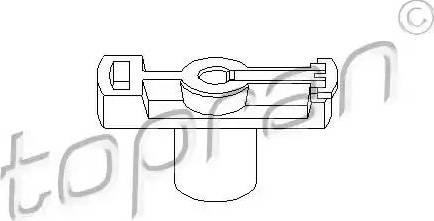 Topran 202016 - Rotor, distributor detali.lv