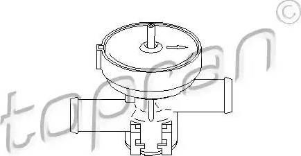 Topran 207465 - Control Valve, coolant detali.lv