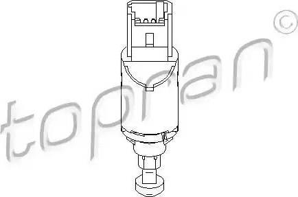 Topran 207436 - Switch, clutch control (cruise control) detali.lv