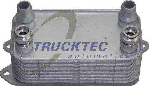 Trucktec Automotive 0225092 - Oil Cooler, automatic transmission detali.lv