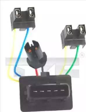 TYC 200271WA1 - Harness, headlight detali.lv