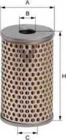 Uniflux Filters XO31 - Hydraulic Filter, steering system detali.lv